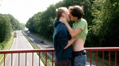 Rückenwind by Jan Krüger - l to r - ROBIN (Eric Golub), JOHANN (Sebastian Schlecht)